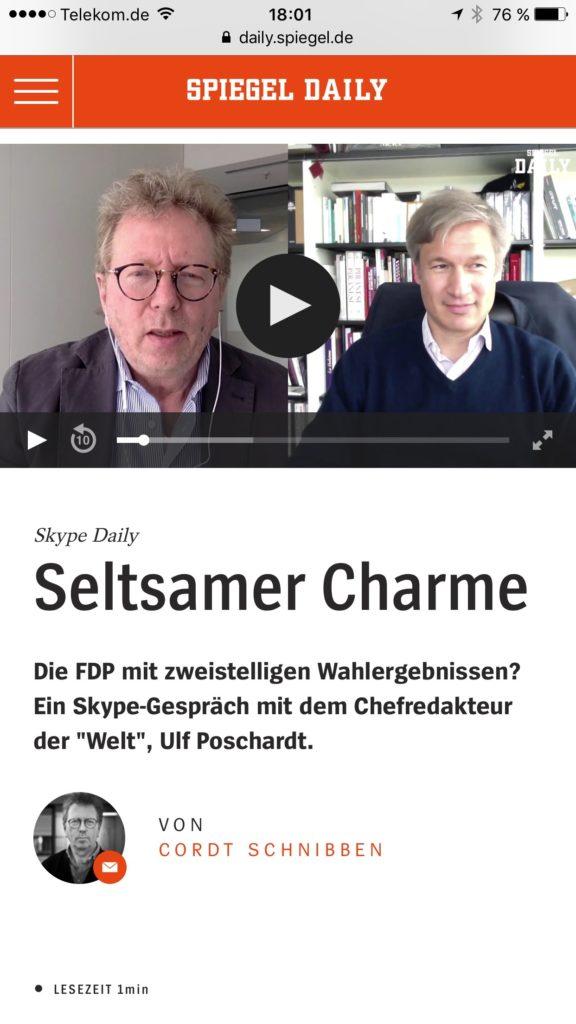 Spiegel daily chronik eines angek ndigten todes jakblog for Spiegel daily